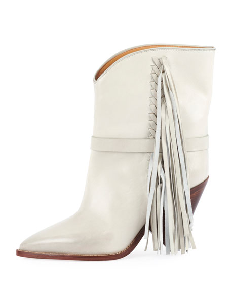 Loffen Low-Heel Fringe Boot