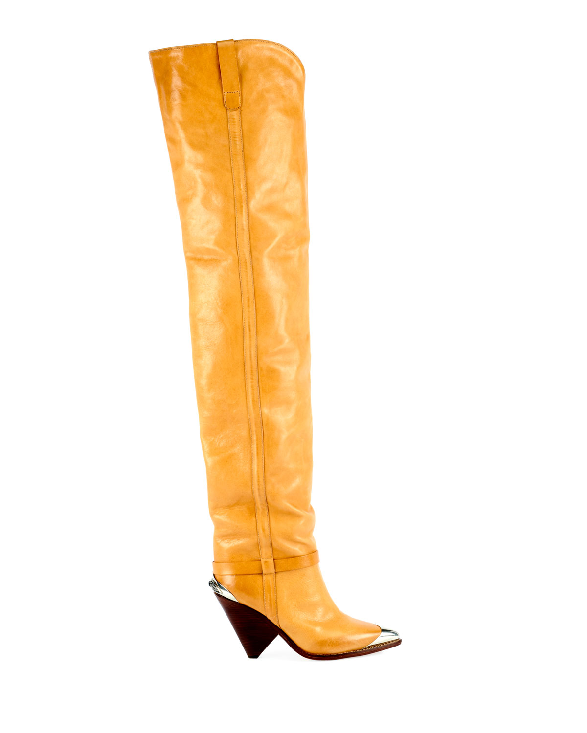 57d4720e954 Isabel Marant Lafsten Over-The-Knee Western Boot