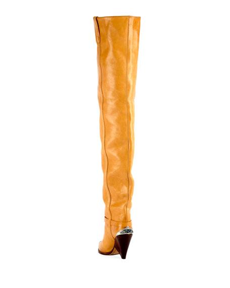 Lafsten Over-The-Knee Western Boot