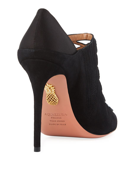 Amour Embellished Suede Pumps