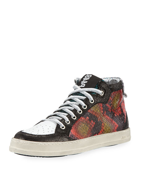 P448 Love High-Top Sneaker