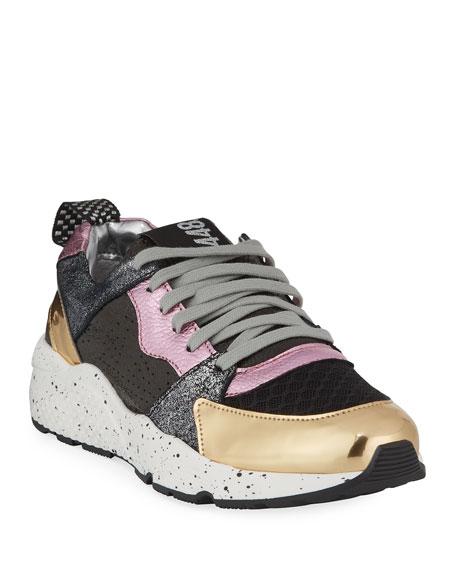 P448 Alex Colorblock Athletic Sneakers