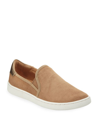Cas Suede Slip-On Sneakers