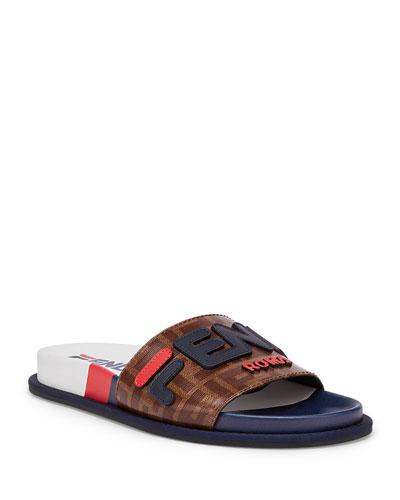 Fendi FF Slide Sandals