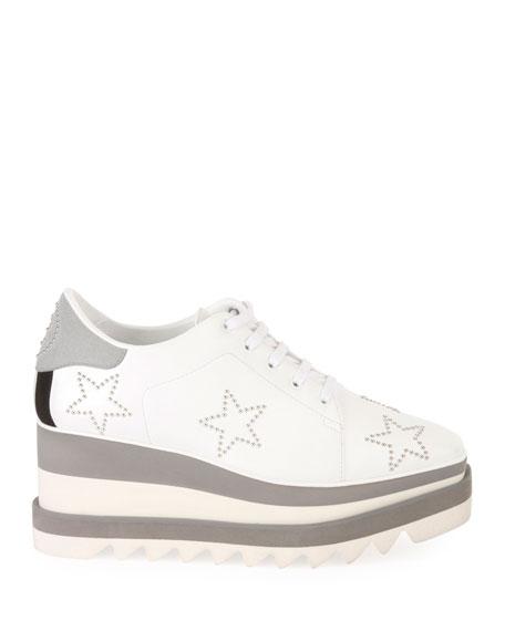 Elyse Stud-Star Platform Sneaker