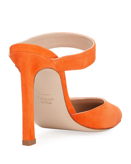 Eventually Luxe Suede Mule Pump