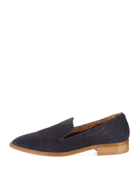 Calista Suede Slip-On Oxford
