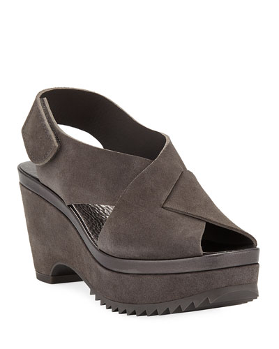 Fayre Platform Wedge Sandals