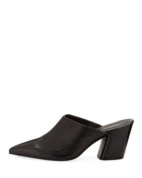 Beha Slide Leather Mules