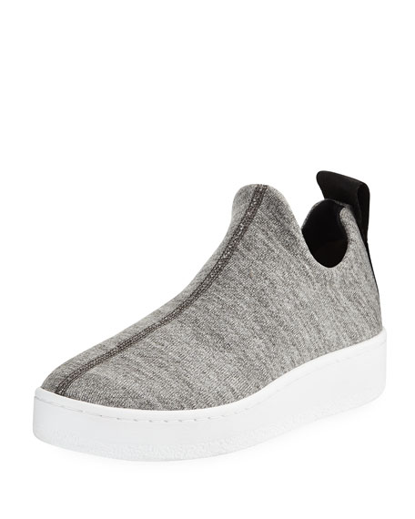 Orion Knit Terry Slip-On Platform Sneakers