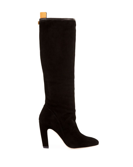 Charlie Slouchy Suede Knee Boot