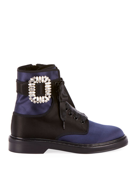 Viv Rangers Strass Lace-Up Bootie