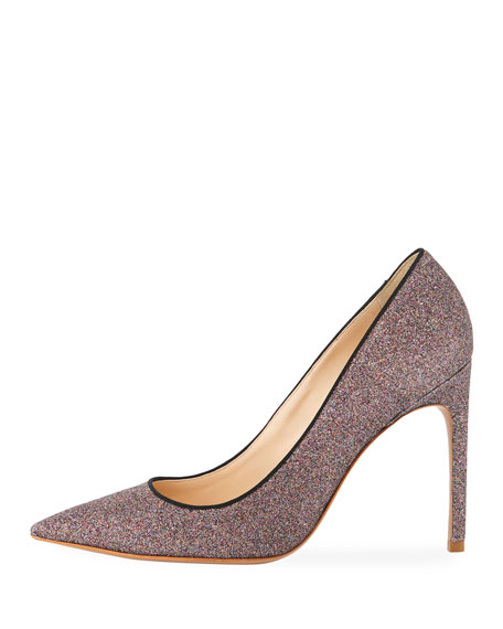 Rio Fine Glitter High-Heel Pumps