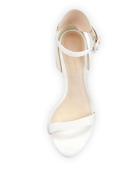 Nicole Calf Ankle-Wrap Sandal