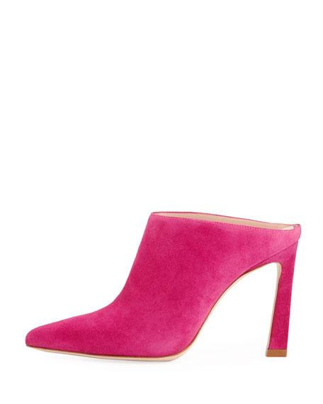 Camila Pointed-Toe Slide Mule