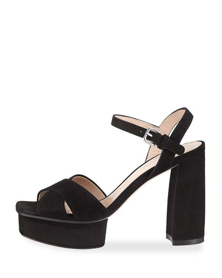 Exposed Easy Platform Sandal