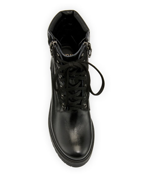 MM Viviane Scarpa Leather Hiker Boots