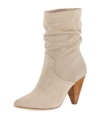 Gabbissy Slouchy Suede Mid-Calf Boots