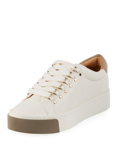 Handan Leather Platform Sneakers