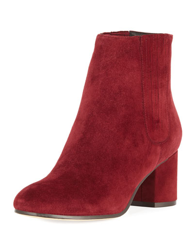 Remmie Suede Ankle Booties