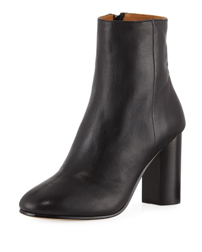 Lara Leather Ankle Boots
