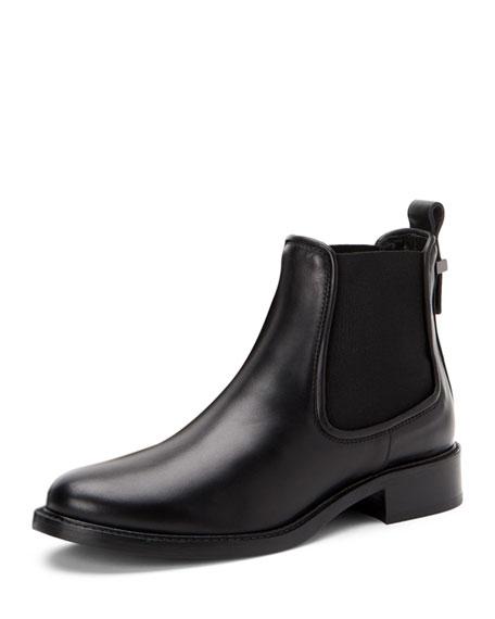 Aquatalia Belle Leather Ankle Boots