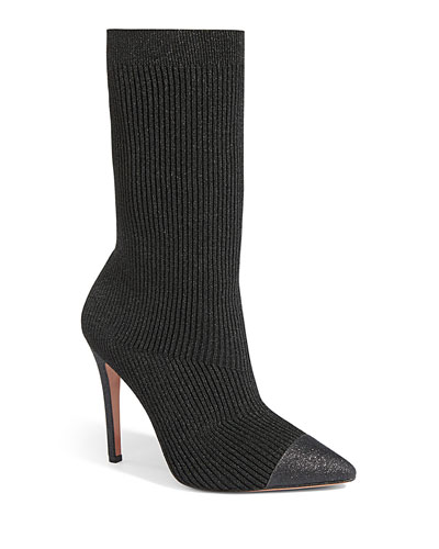 Darbin Knitted Sock Booties