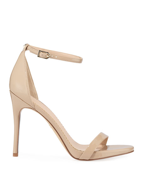 Ariella Patent Strappy Sandals
