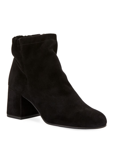 Hollis Suede Ankle Booties