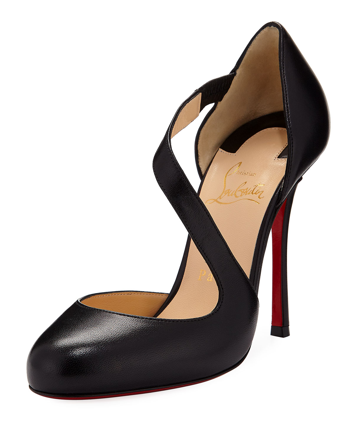 detailed look 28450 a6cf9 Decalcoco Asymmetric Red Sole Pump