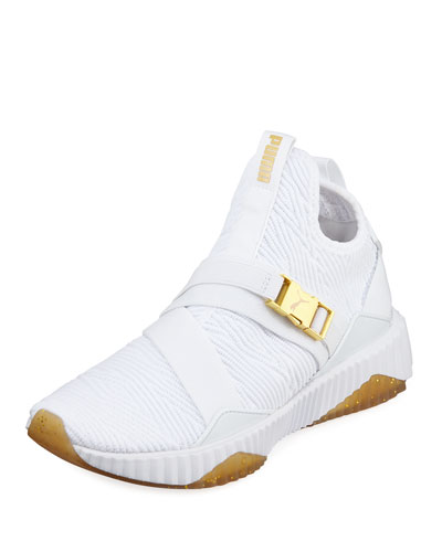 Defy Fabric Buckle Sneakers