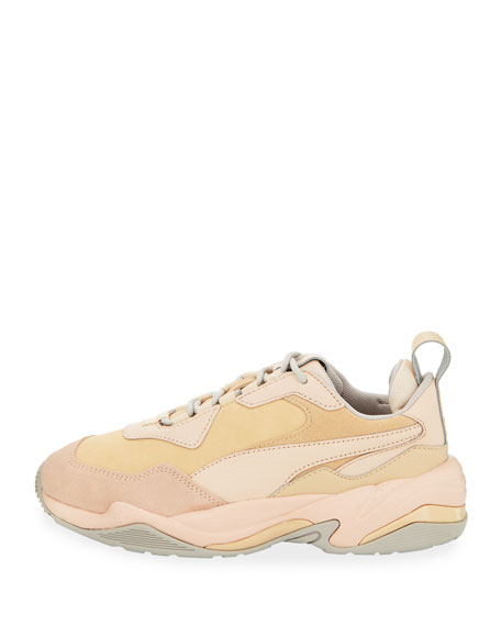 Thunder Drift Leather Trainer Sneakers