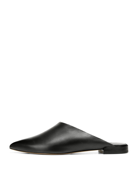 Danna Crinkle Patent Leather Mules