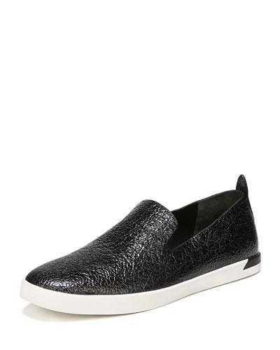 Vero Crinkled Patent Sneakers