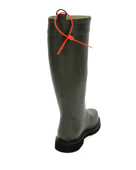 For Riding Quote Wellington Rain Boot
