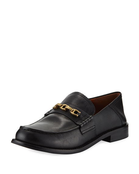 Coach Putnam Loafers w/ Fold-Down Heel