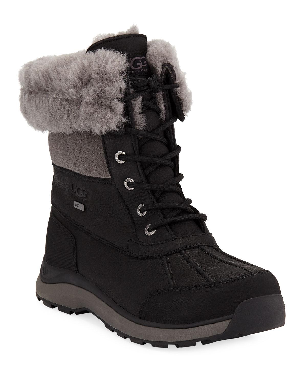 ugg australia adirondack iii waterproof laceup boots