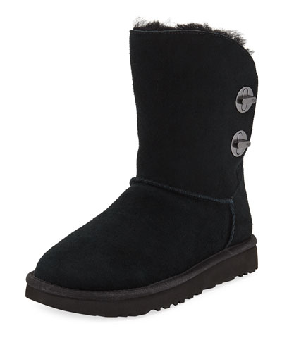 UGG Australia Short Luxe Turn-Lock Boots