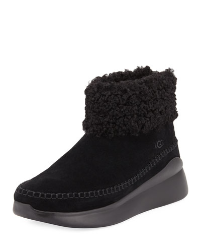 UGG Australia Montrose Short Zip Wedge Boot Sneakers