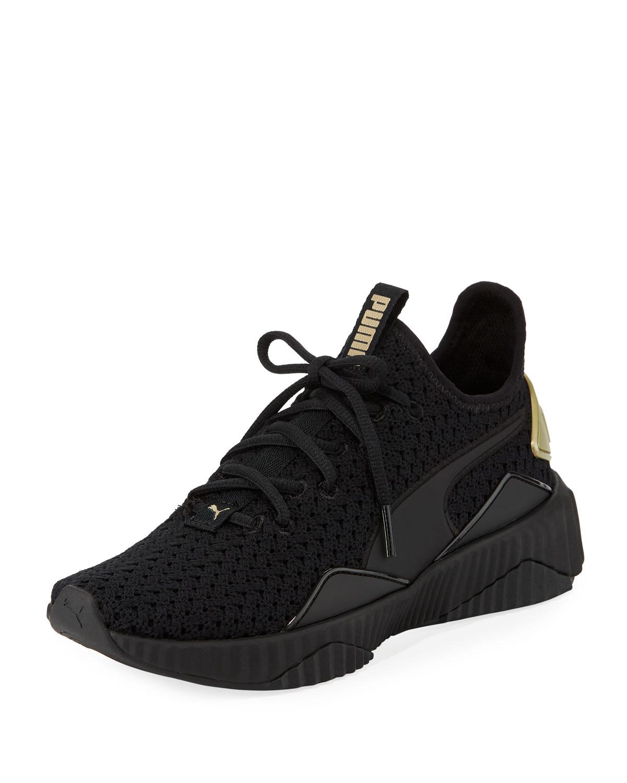ace09823eca4 Puma Defy Varsity Knit Sneakers