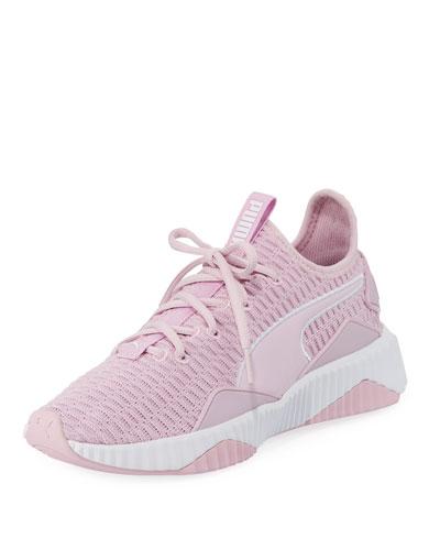 Defy Varsity Knit Platform Sneakers