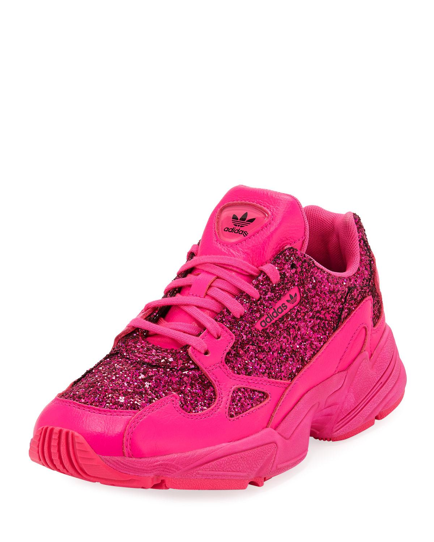 8c6eb13fcbeb Adidas Falcon Women s Glitter Sneakers