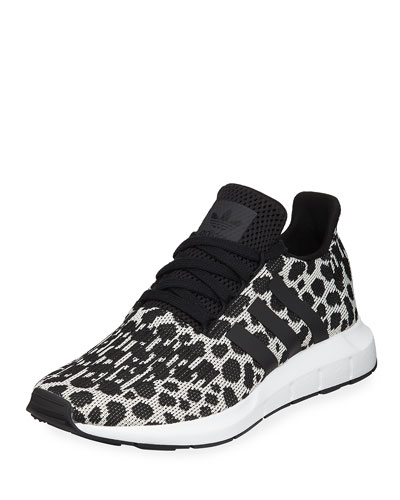 Swift Run Cheetah-Print Trainer Sneakers