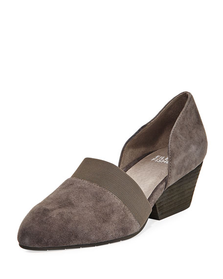 Eileen Fisher Hilly Wedge Heels