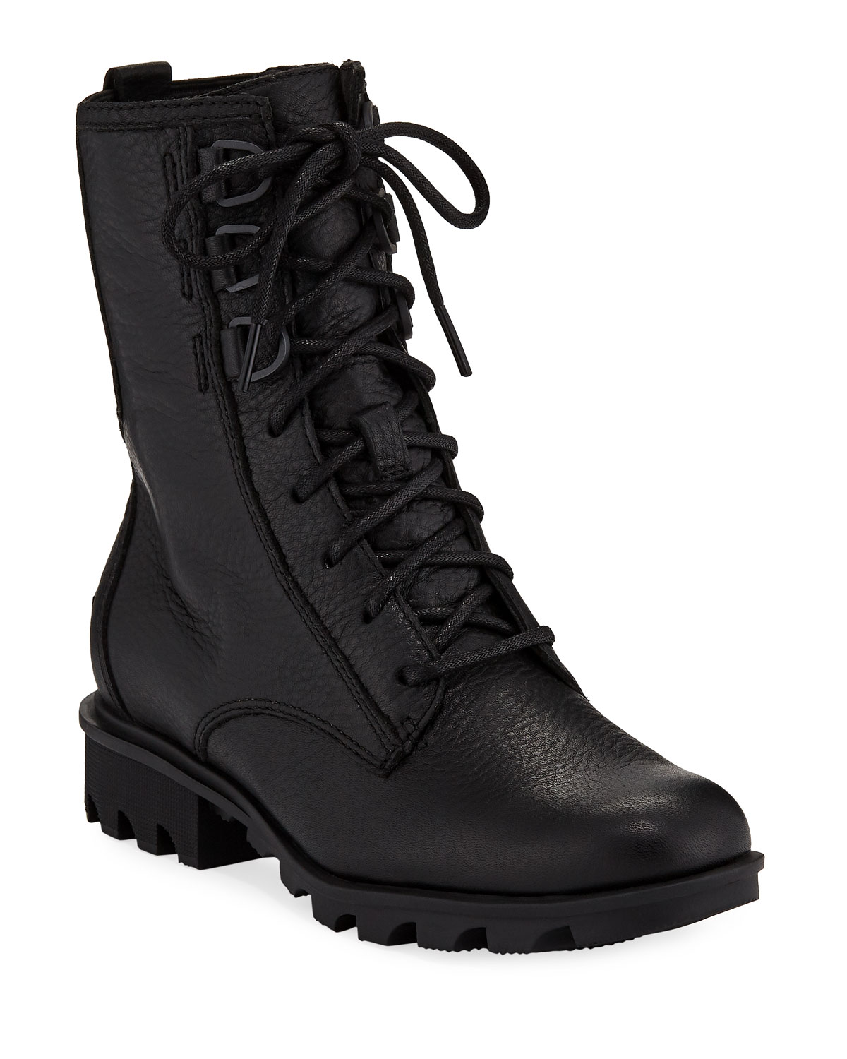 Sorel Phoenix Waterproof Leather Combat Boots Neiman Marcus
