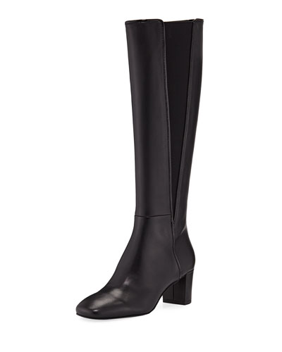 Jamey Tall Leather Knee Boots