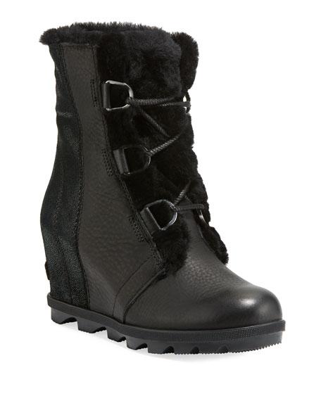 Sorel Joan of Arctic II Fur Wedge Boots