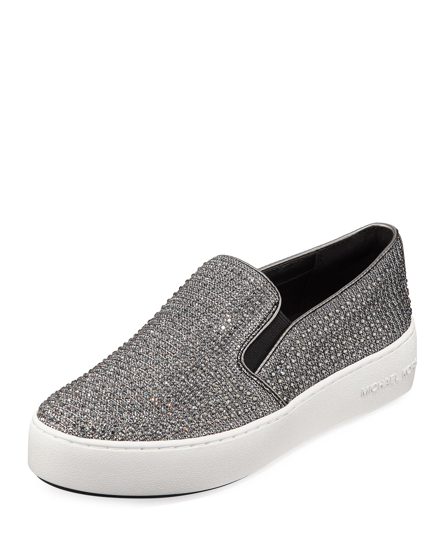 931b18f5d3f0 MICHAEL Michael Kors Trend Glitter Mesh Slip-On Sneakers