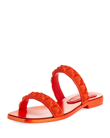 Rosita Two-Band Slide Sandal