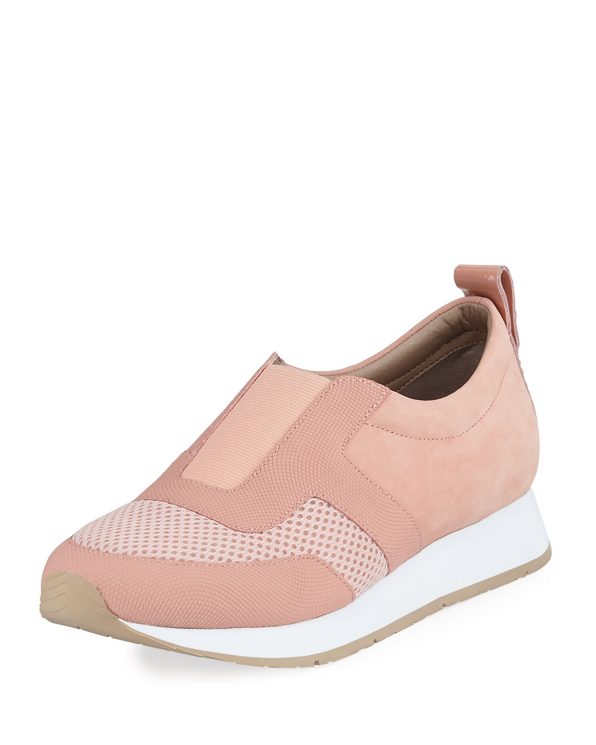 Donald J Pliner Rie Mixed Leather Sneakers  956476876